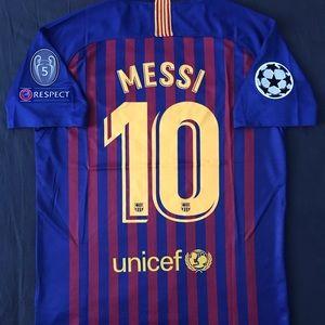 00ce81f74ba ... FC Barcelona Jersey 2018 2019 Messi  10 2XL